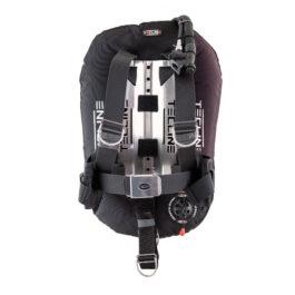 Ultra Light Travel Set: Donut 15 Black, Dir Harness, Alu BP, Trim & Weight Pockets, Tank Belts