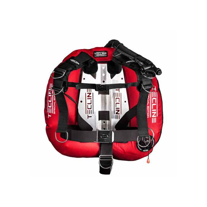Donut 22 Special Edition Red, With Comfort Harness & BP