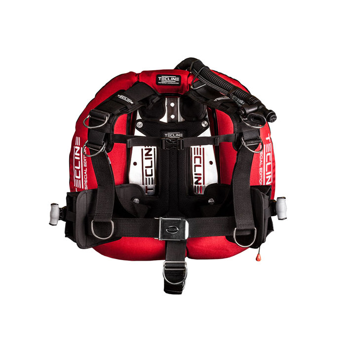 """Donut 22 Special Edition Red With Comfort Harness, Weight Pocket & BP Soft Pad """"H"""""""