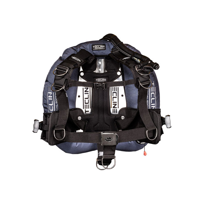 """Donut 17, 22 Special Edition Blue With Comfort Harness, Weight Pocket & BP Soft Pad """"H"""""""