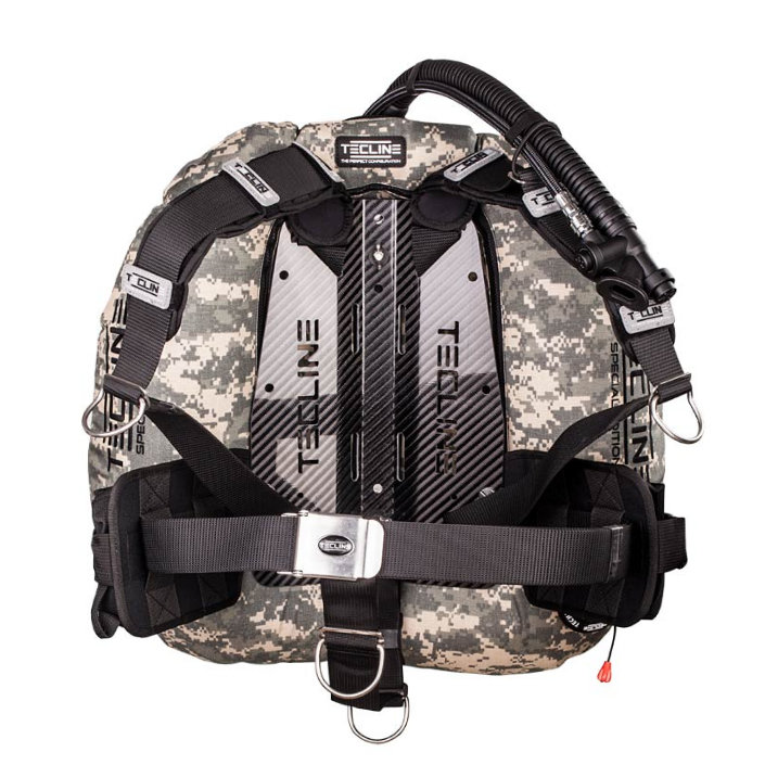 Donut 22 Special Edition Camo, Carbon BP With Dir Harness & Weight Pockets