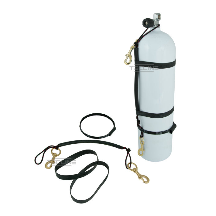 Stage Rigging Kit For 10/11,1l + 120mm Brass Bolt Snap + Rubber Bands