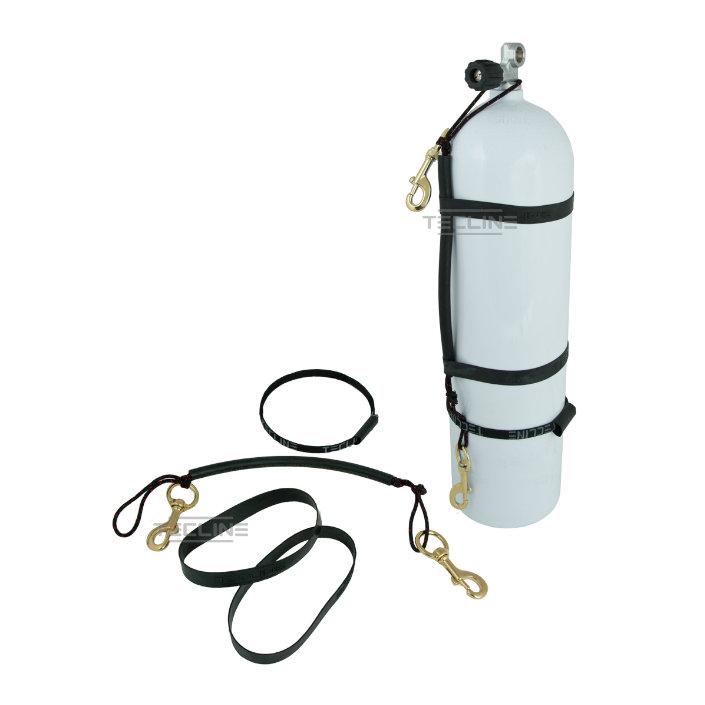 Stage Rigging Kit For 5,7l + 120mm Brass Bolt Snap + Rubber Bands