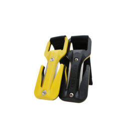 Eezycut Trilobite Yellow/Black - Harness Pouch With Black Velcro