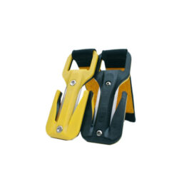 Eezycut Trilobite Yellow/Black – Harness Pouch With Yellow Velcro