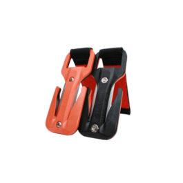 Eezycut Trilobite Orange/Black – Harness Pouch With Orange Velcro