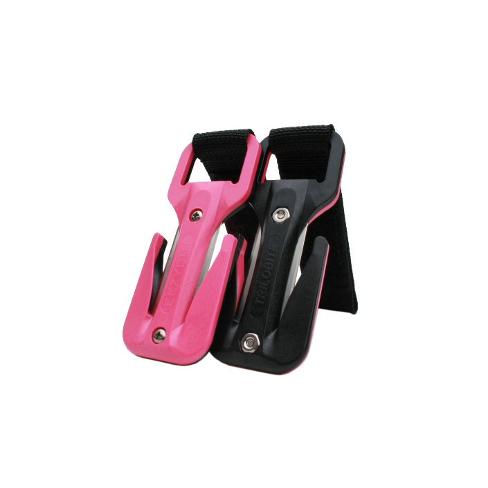 Eezycut Trilobite Pink/Black – Harness Pouch With Black Velcro