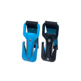 Eezycut Trilobite Blue/Black - Harness Pouch With Blue Velcro