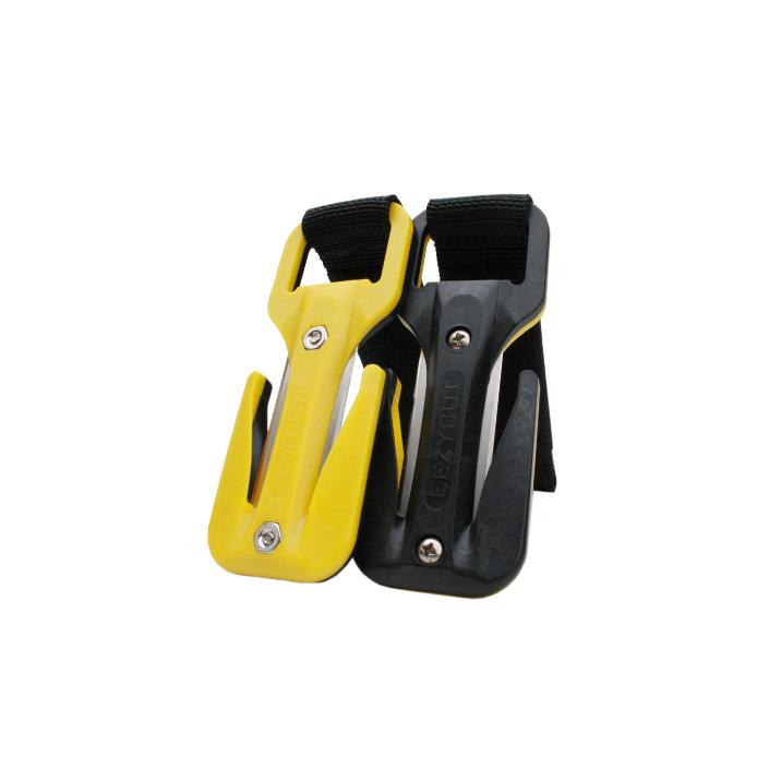 Eezycut Trilobite Yellow/Black – Wrist Pouch With Black Velcro