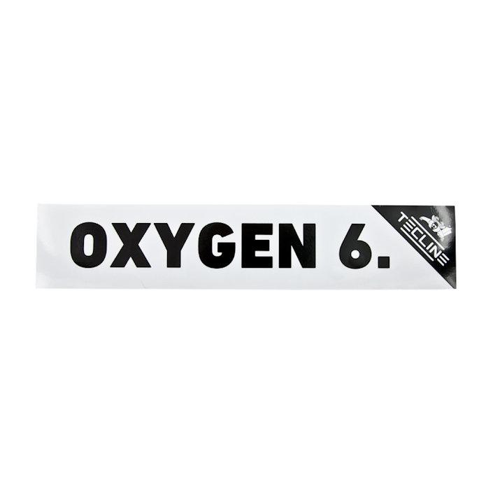 Sticker Oxygen 6 - 30 x 9cm