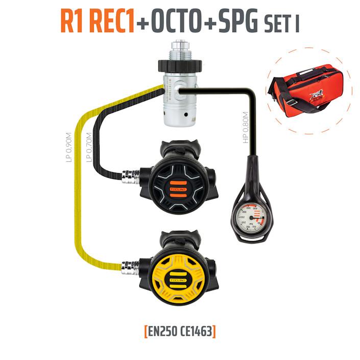 10001-52 - Regulator R1 REC1 Set I with Octo and SPG - EN250