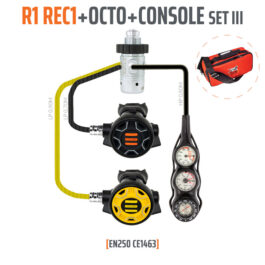 10001-54 - Regulator R1 REC1 Set III with Octo and 3 Elements Console - EN250