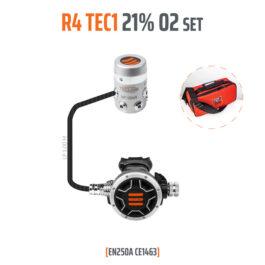10003-91 - Regulator R4 TEC1 21% O2 G5/8, Stage Set - EN250A