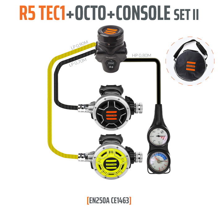 10007-2 - Regulator R5 TEC1 Set II with Octo and 2 Elements Console - EN250A