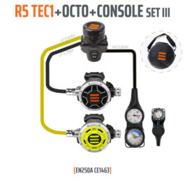 10007-3 - Regulator R5 TEC1 Set III with Octo and 3 Elements Console - EN250A