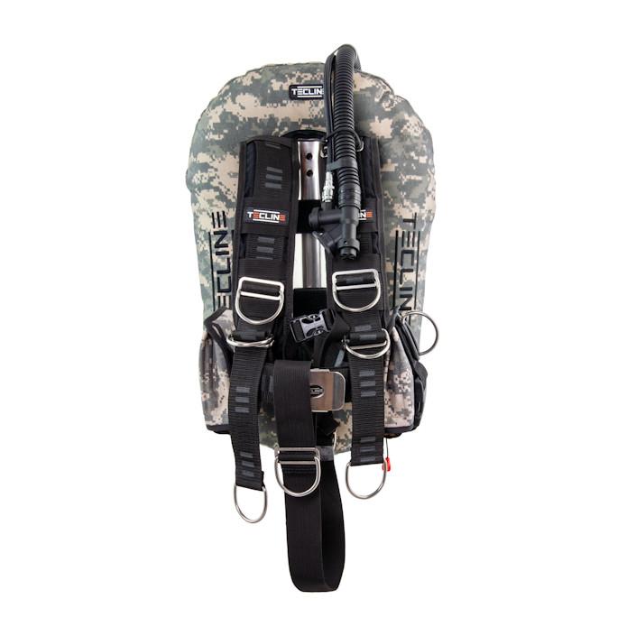 T10951 - Junior Comfort Set: Donut 10, Comfort Harness, Ss Or Alu Midi Backplate, Weight Pockets, Tank Belts