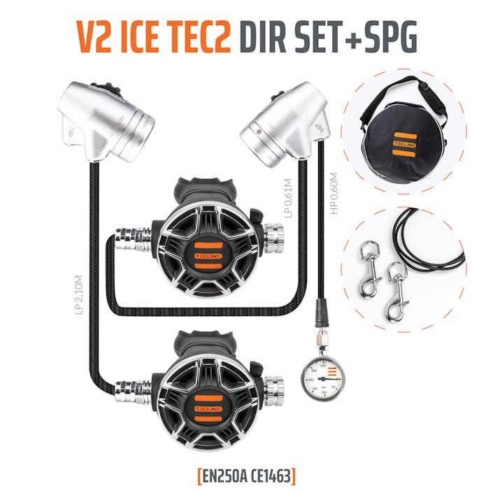 T15180 - Regulator V2 ICE TEC2 DIR Set with SPG - EN250A