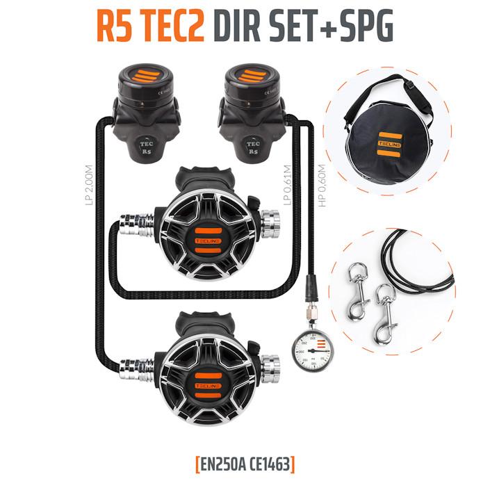 T15320 - Regulator R5 TEC2 DIR Set with SPG - EN250A