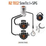 T15520 - Regulator R2 TEC2 SemiTec I Set with SPG - EN250A